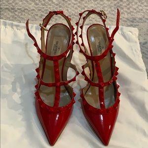 Red Valentino rock studs.